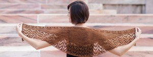 KCC brown shawl