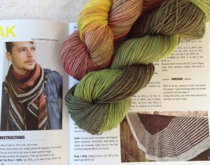 Stephen and Steven shawl yarn