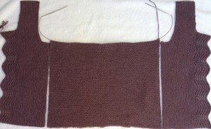 back and front armhole match