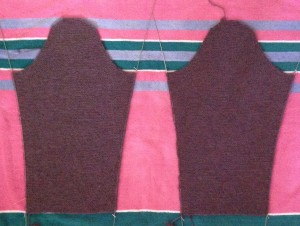 both sleeves blocking
