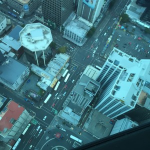 Sky City view looking down