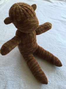 finished sock monkey 1