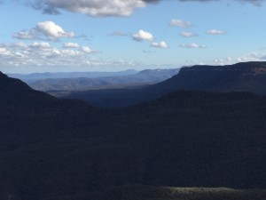 Blue Blue Mountains view