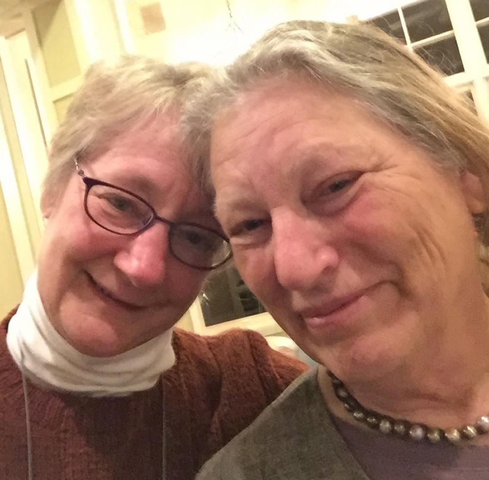 Selfie at Strung Along with Judith
