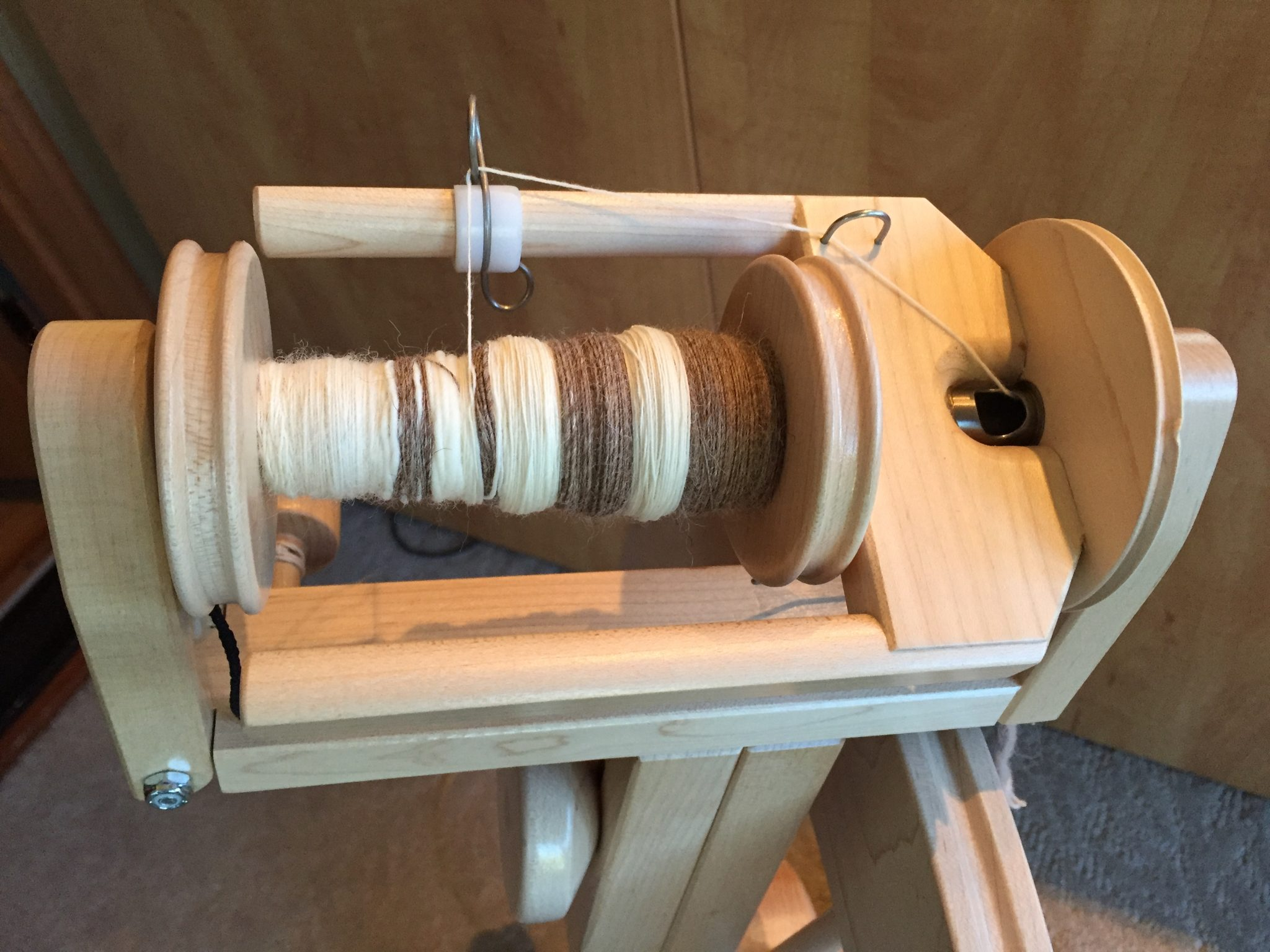 Yarn spun at Strung Along