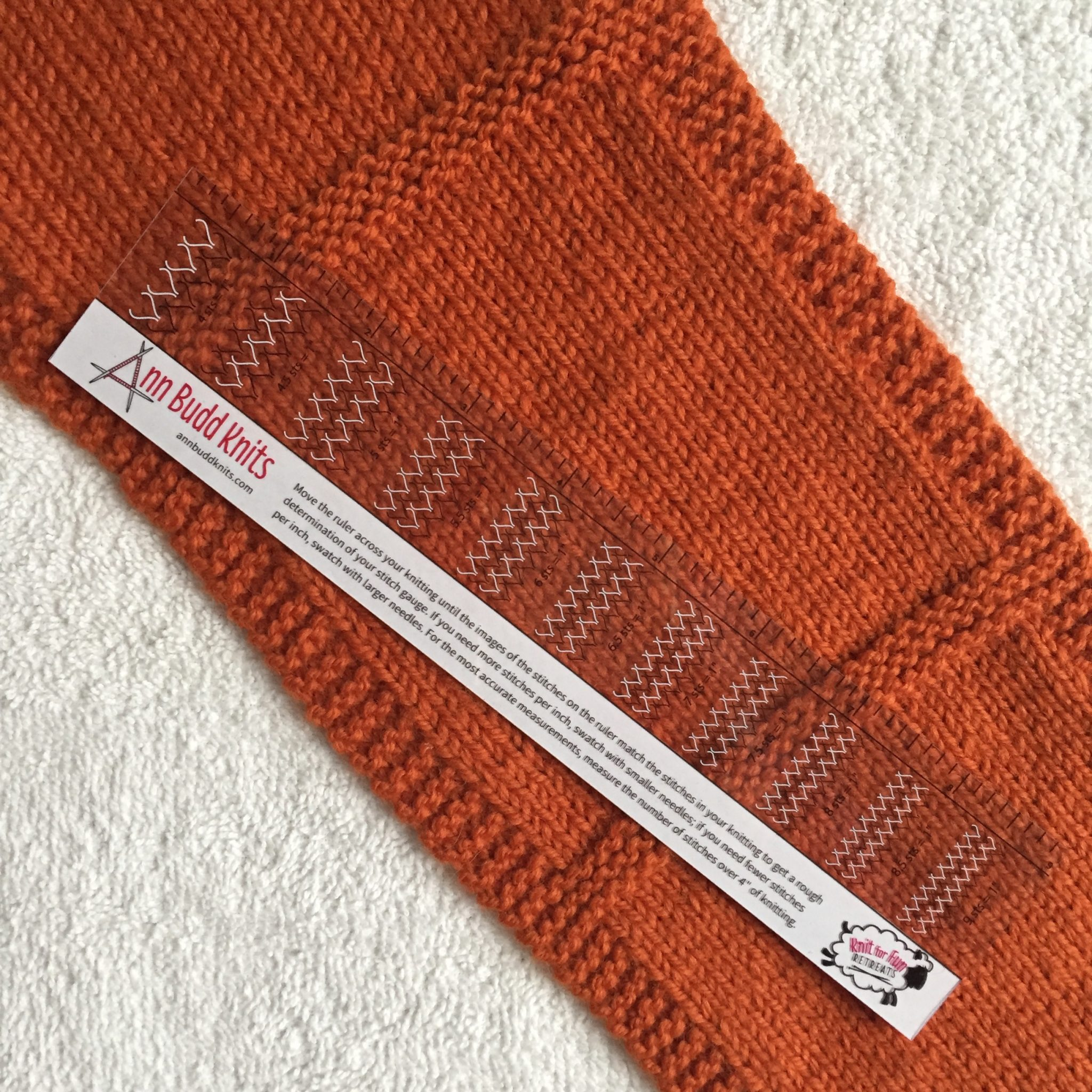 Knitting Stitches To Cm : Gauge Demons