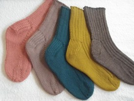 socks at any guage