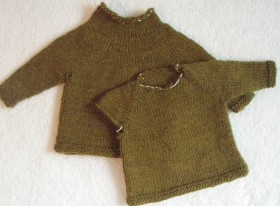 Top-Down Raglan and Circular Yoke